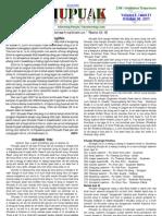 THUPUAK Volume 6, Issue 21_October 30, 2011