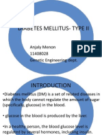 Diabetes Mellitus- Type II