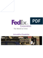 Fed Ex Operation Strategy