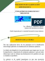 CONCEPTOS BÁSICOS DE CLASIFICACIÓN MERCEOLÓGICA DE PRODUCTOS QUÍMICOS