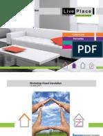 Workshop LivePace - Produtos KnaufInsulation