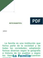 Psicologia Sistemica en La Familia