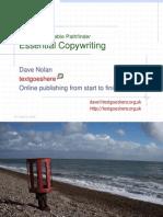 Essential Copywriting Training Workshop Slides