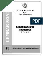 SOAL SMK Bahasadansastraindonesia 0405 P1