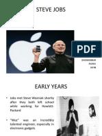 Steve Jobs Ppt1
