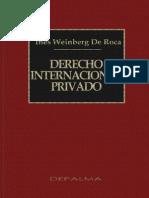 Derecho Internacional Privado Weinbeg de Roca (1)