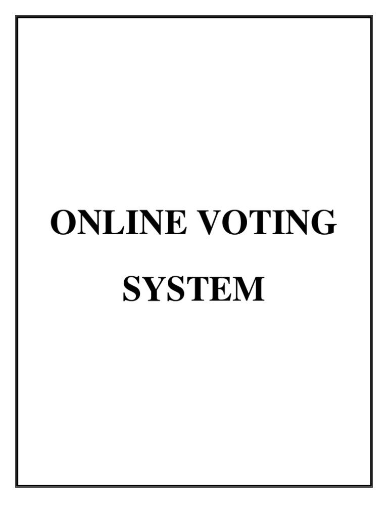 Documentation online voting system visual basic for applications documentation online voting system visual basic for applications basic ccuart Gallery