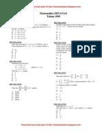 U Matematika1999n