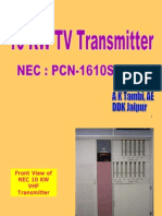 10 KW TV Transmitter