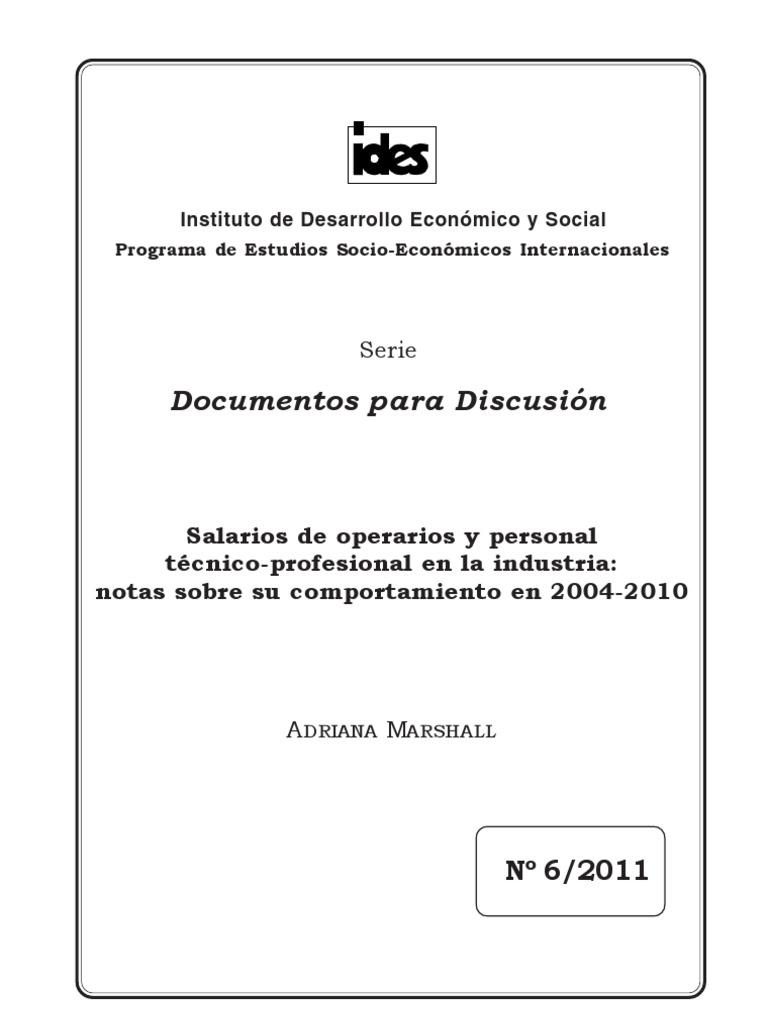 Salarios Adriana Marshall