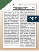 Coy 121 - Informe de Milenio sobre la Economía Primer Semestre 2011. No 31