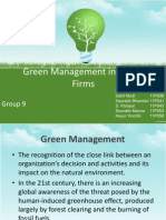 Green Management Group 9