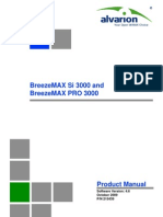 BreezeMAX 3000 Ver.4.6 Product Manual Subscriber 091015