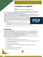 PC-200, Cómo acentuar en español