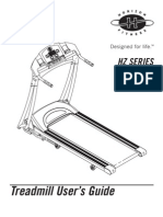 Horizon Treadmill - T25 T35 Users Guide