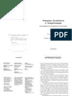 Pesquisa Qualitativa e Subjetividade