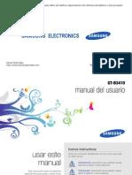 User Manual Samsung