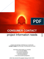 Session X Consumer Contact