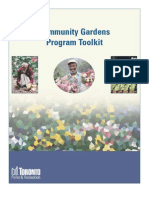 Community Gardens Program Toolkit - Toronto Parks