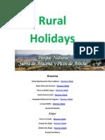 Rural Holidays