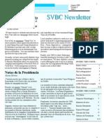 SVBC Newsletter Vol 3 No 2-Jan 2009