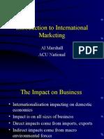 001 Intro to International Marketing