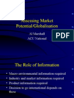 002 Assessing Market Potential -Globalisation
