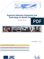 Explosive Detection Equipment and Technology for Border Security