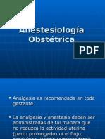 anestesia obstetrica(seminario 2)