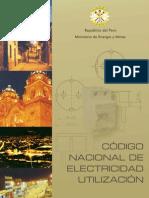 Codigo Nacional de Electric Id Ad Utilizacion