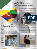 Boletin 214 Informe Misionero de Mozambique Mayo 20 2011