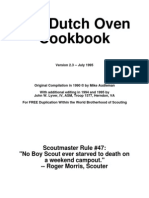 124758 Boy Scouts Dutch Oven Cookbook