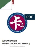 Organización Constitucional del Estado