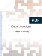 cours harthong analyse