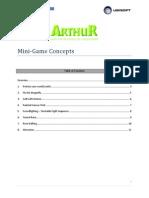 Arthur Mini-Game Concepts