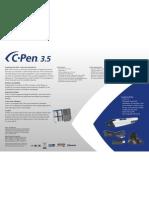 C Pen 3.5 Product Sheet