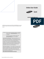 Samsung Seek Manual