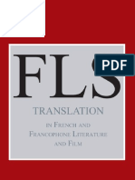 (2) Translation in French and Franc Op Hone Literature and Film