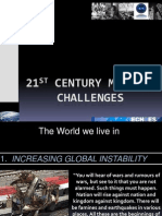 1 Keynote Session 1 - 21st Century Challenges