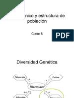 Clase 8 -Flujo génico y Estructura de Población