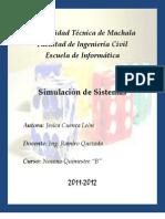 FOLLETO DE SIMULACIÓN DE SISTEMAS