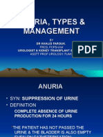 Anuria, Types & Management