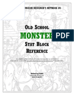 CDD#1 - Statblock Reference
