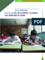 GUÍA PARA LA ATENCIÓN EDUCATIVA DEL SINDROME DE DOWN
