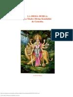 La Diosa Durga La Madre Divina Kundalini de Ganesha