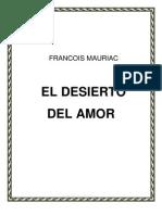 Mauriac Francois Desierto Del Amor