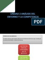 ANÁLISIS DEL ENTORNO Y COMPETENCIA