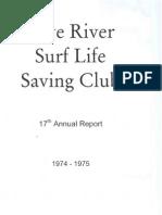 1974-75 Annual Report