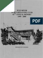 1999-2000 Annual Report