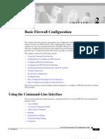 Basic PIX Firewall Configuration